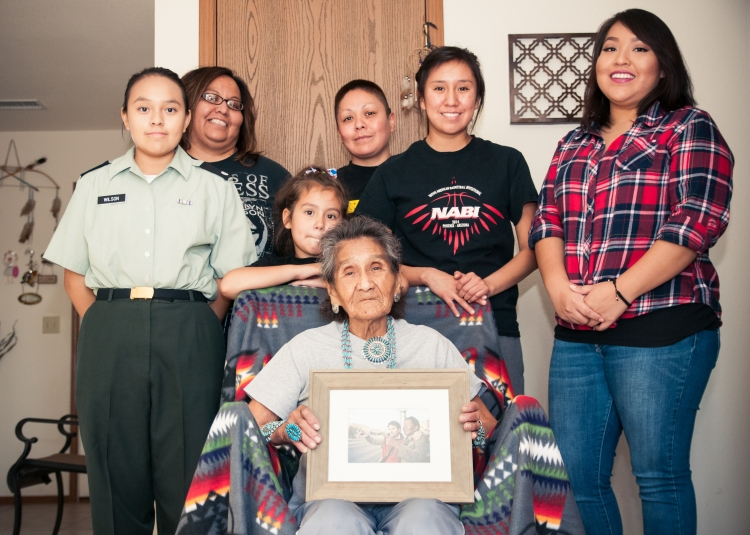Bates Family (Navajo)_granddaughters-1